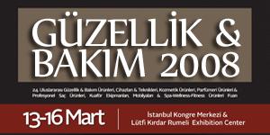 Güzellik ve Bakım Fuarı, İstanbul<br>13-16 Mart 2008