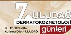 7. Uludağ Dermatokozmetoloji Günleri, Uludağ<br>4 – 17 Mart 2013
