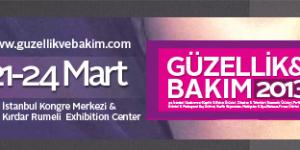 Güzellik &#038; Bakım Fuarı, İstanbul<br>21 – 24 Mart 2013