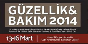 Güzellik ve Bakım Fuarı İstanbul &#8211; İstanbul Kongre Merkezi<br>13-16 Mart 2014