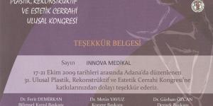 XXXI. Türk Plastik, Rekonstrüktif ve Estetik Cerrahi Kongresi, Adana