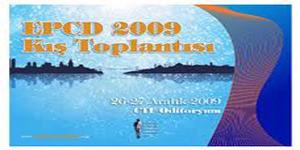 EPCD 2009 Kış Toplantısı, İstanbul<br>26 – 27 Aralık 2009