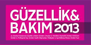 Güzellik ve Bakım Fuarı, İstanbul<br>2013