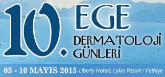 10. Ege Dermatoloji Günleri-Sentido Lykia Resort, Fethiye<br>5-10 Mayıs 2015