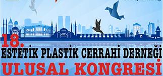 18. Estetik Plastik Cerrahi Derneği Ulusal Kongresi, The Marmara Otel,<br /> 11-12 Ocak 2014