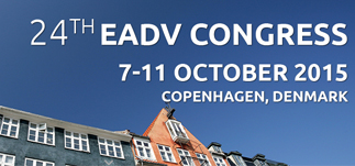 24th European Academy of Dermatology and Venereology Congress-Kopenhag<br>7-11 Ekim 2015