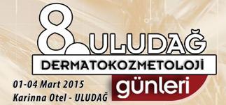 8. Uludağ Dermatokozmetoloji Günleri Karinna Otel, Uludağ<br>1-4 Mart 2015