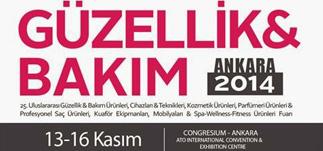 Güzellik ve Bakım Fuarı Ankara<br>13-16 Kasım 2014